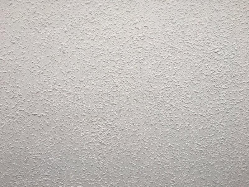 Fond blanc d'abrégé sur texture de mur de plâtre photo libre de droits