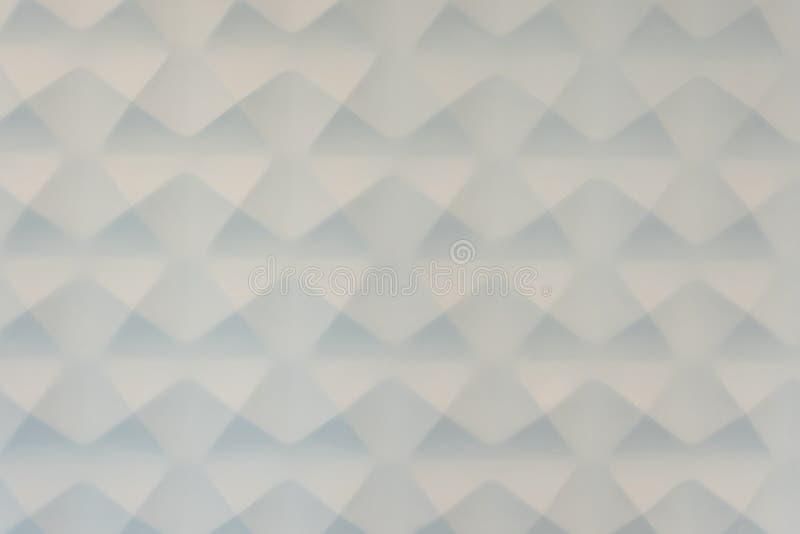 Fond blanc de gypse de triangle images libres de droits