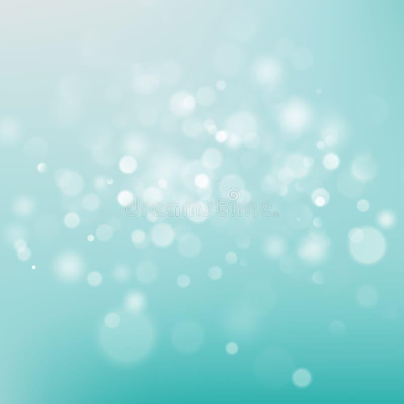 Fond blanc de Milou et bleu de tache floue ENV 10 illustration libre de droits