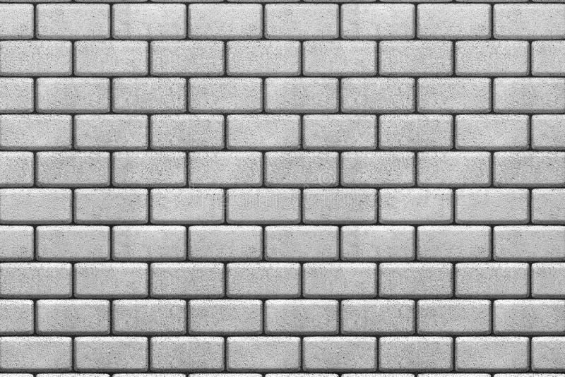 Fond blanc de mur de briques illustration de vecteur