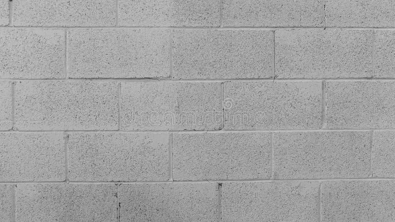 Fond blanc de mur de briques photos libres de droits