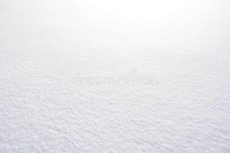 Fond blanc de neige photos stock