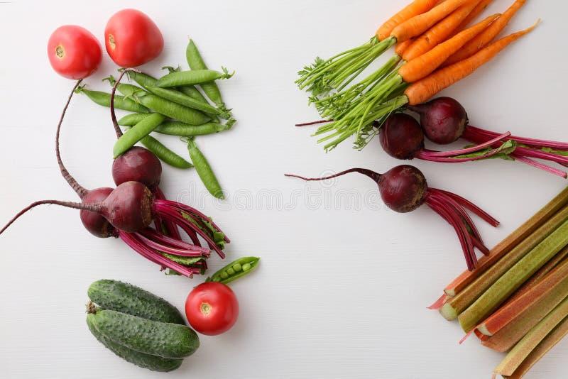 Fond blanc de nourriture images stock
