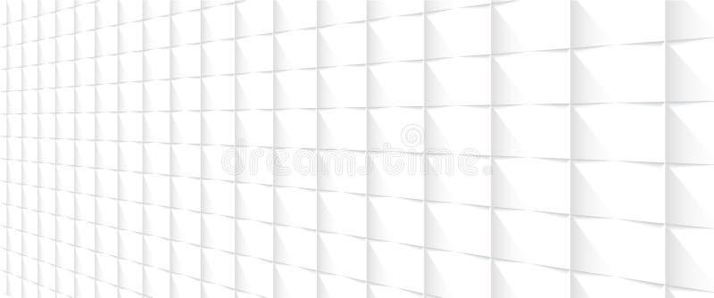Fond blanc de perspective images stock