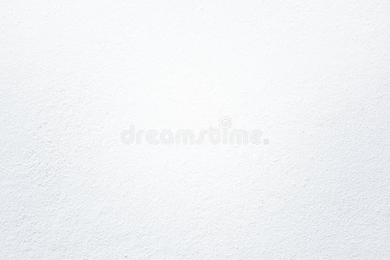 Fond blanc de texture de mur de plâtre photos libres de droits