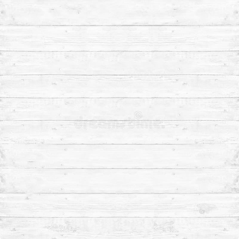 Fond blanc de texture de planche en bois de pin photo stock