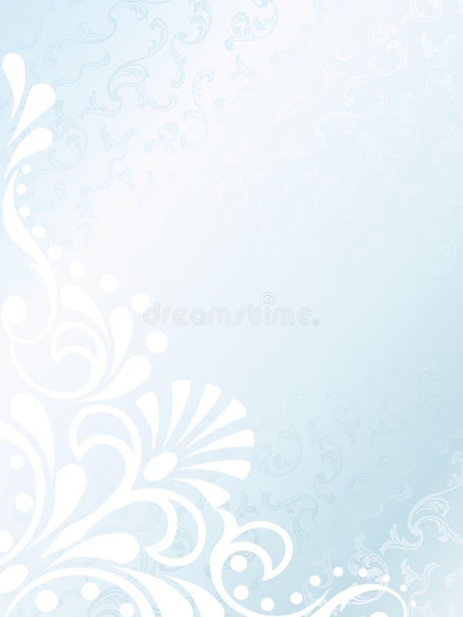 Fond blanc victorien de satin, vertical illustration libre de droits