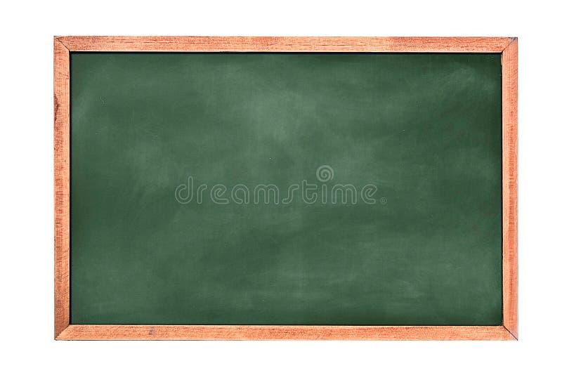 Fond/blanc vides de panneau de craie fond de greenboard Texture de tableau noir photographie stock libre de droits