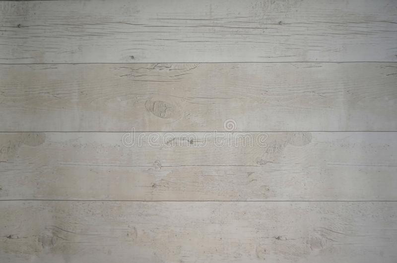 Fond blanchi de papier peint de conseils en bois photographie stock