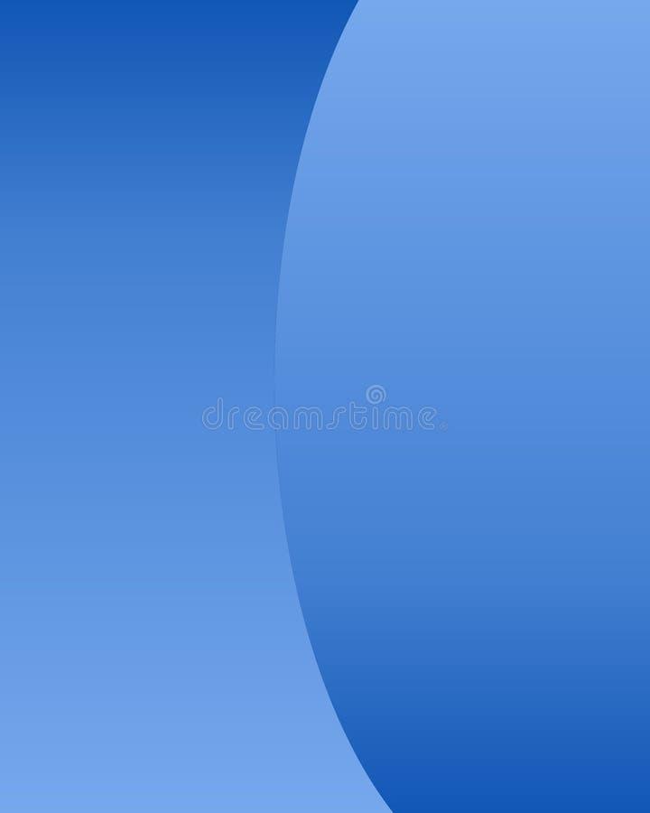 Fond Bleu Photographie stock