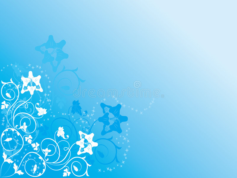 Fond bleu photos stock