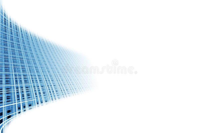 Fond bleu abstrait. illustration stock