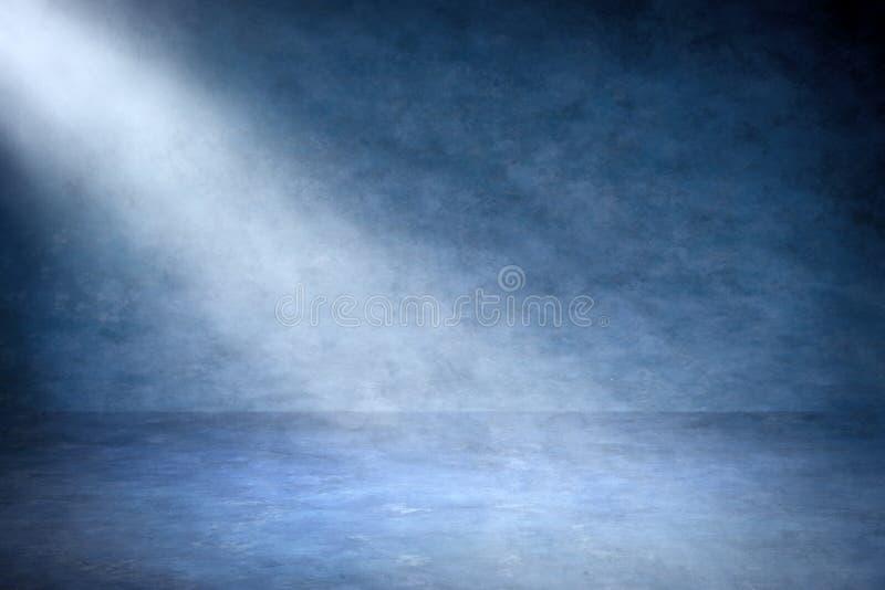 Fond bleu abstrait image libre de droits