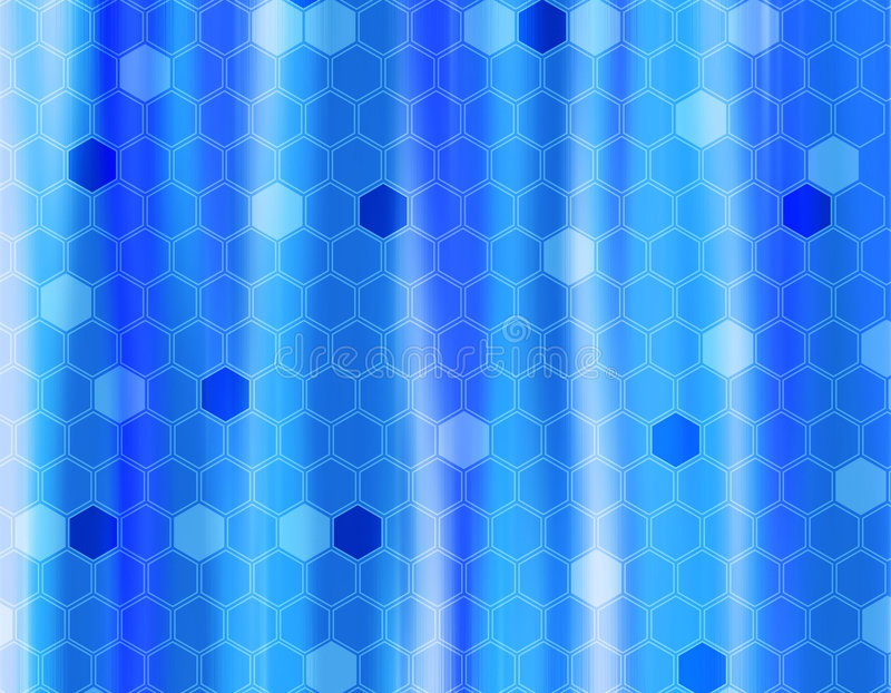Fond bleu abstrait illustration stock
