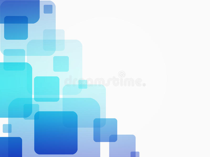 Fond bleu abstrait d'affaires illustration stock