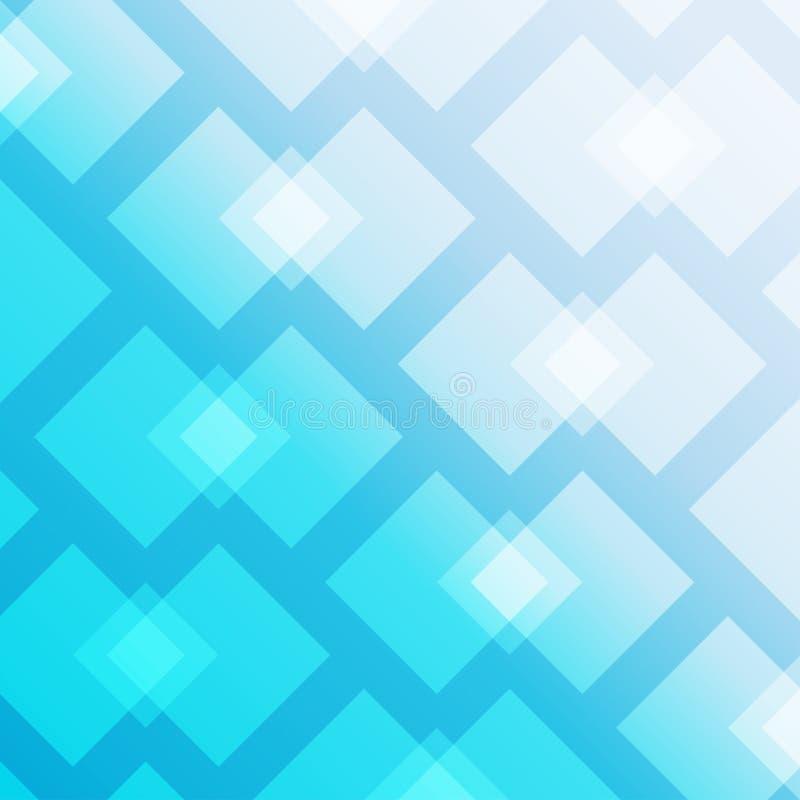 Fond bleu abstrait Illustration de vecteur illustration libre de droits