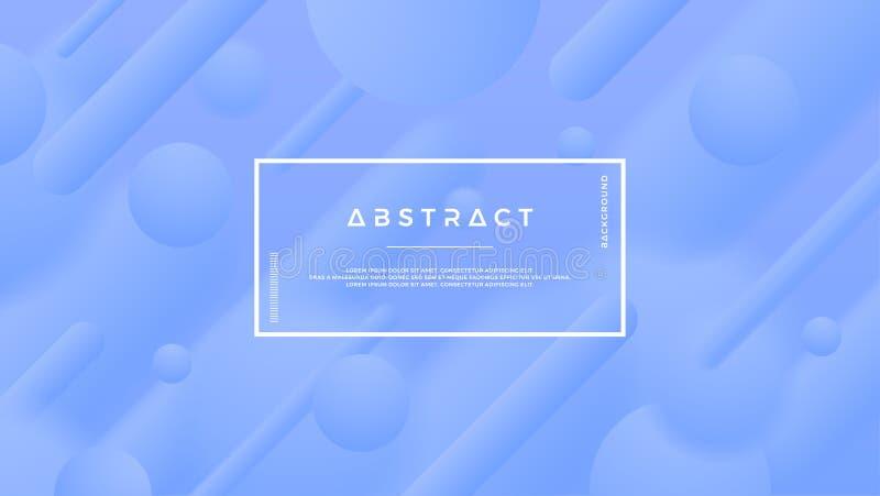 Fond bleu abstrait pour des affiches, des brochures, des bannières, des couvertures et d'autres Fond du vecteur Eps10 illustration stock