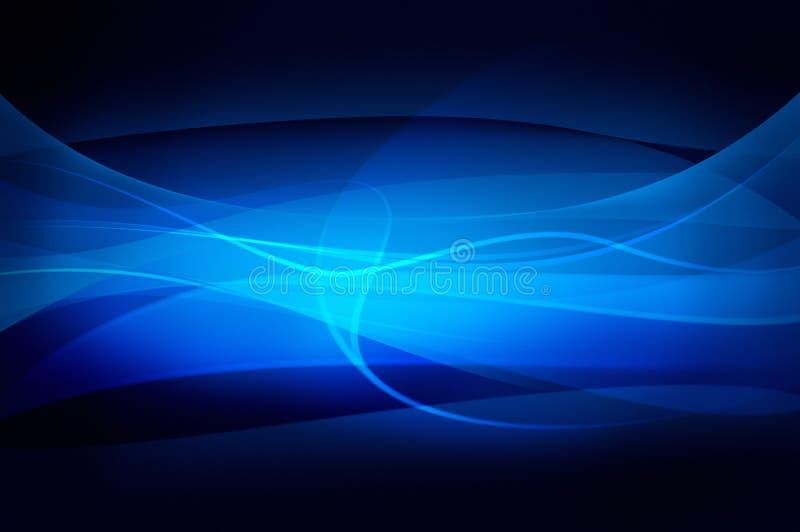 Fond bleu abstrait, texture de voile illustration de vecteur