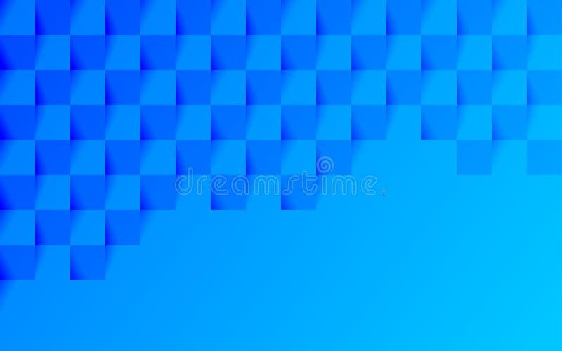 Fond bleu avec des places illustration libre de droits