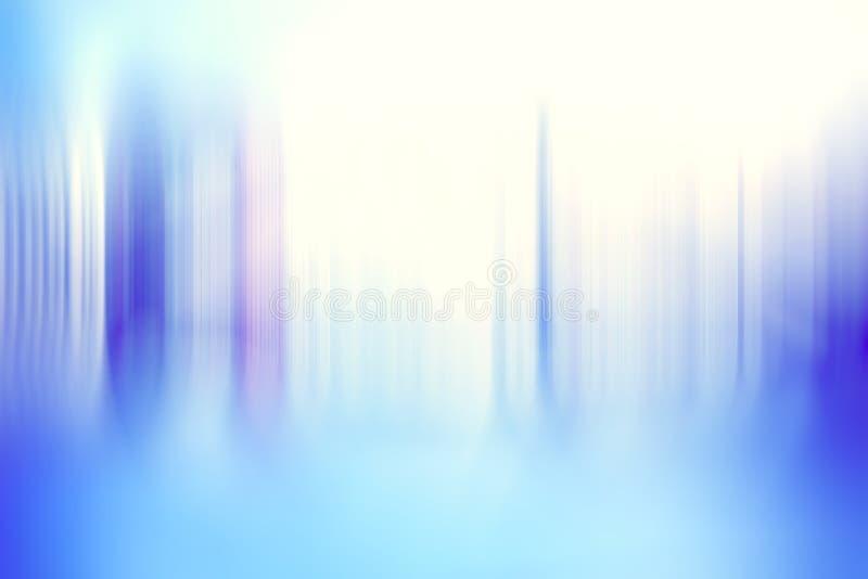 Fond bleu brouillé par abstrait illustration de vecteur