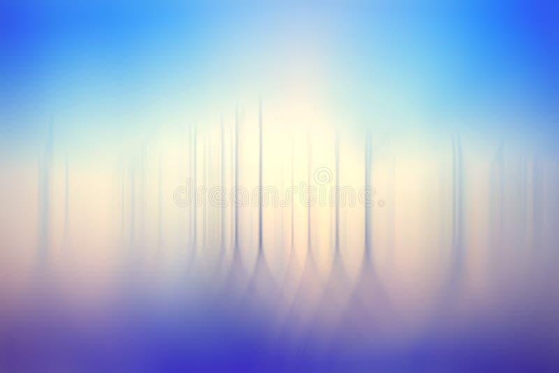 Fond bleu brouillé par abstrait illustration libre de droits