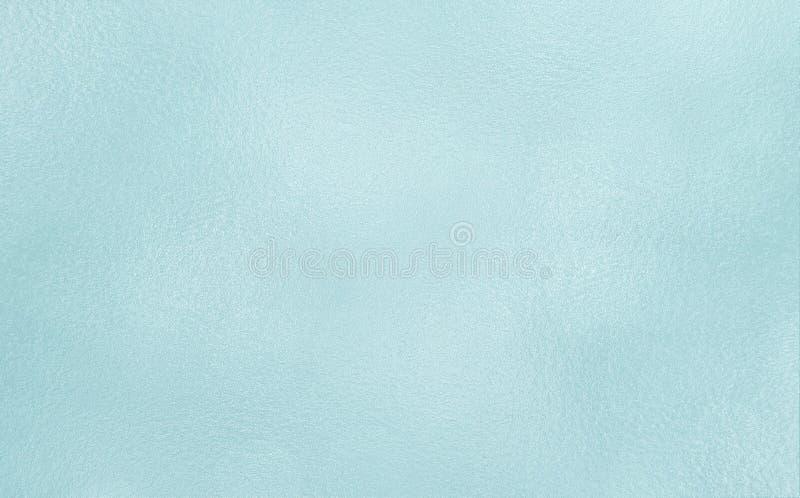 Fond bleu-clair de texture en verre givré de couleur photographie stock libre de droits
