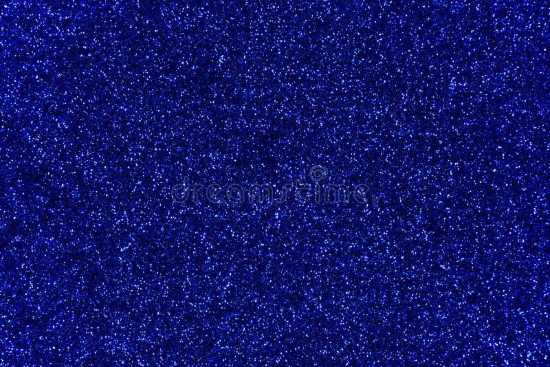 Fond bleu d'abrégé sur texture de scintillement photos libres de droits