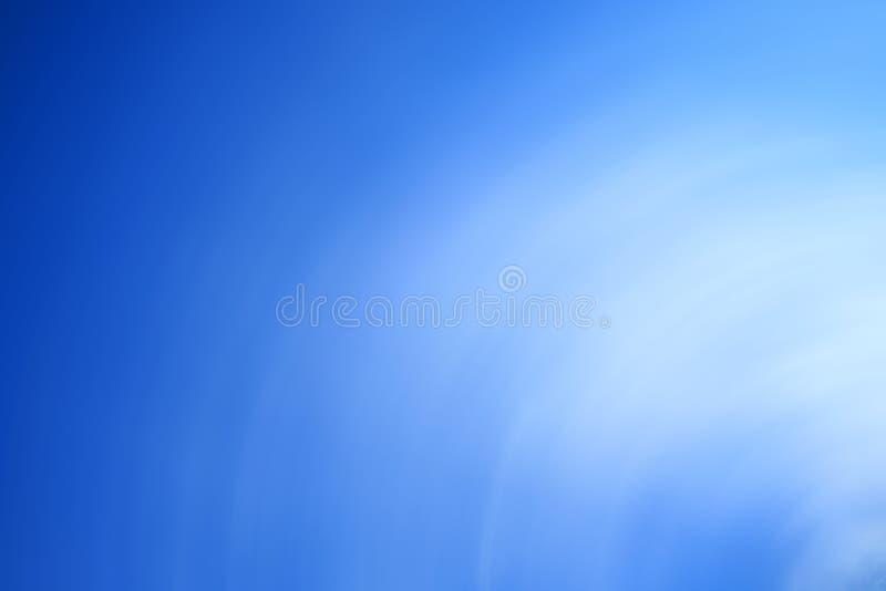 Fond bleu de Blured photo libre de droits