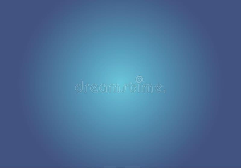 Fond bleu de couleur de gradient, illustration illustration libre de droits