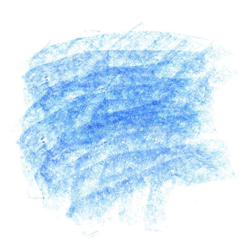 Fond bleu de craie de vecteur illustration stock