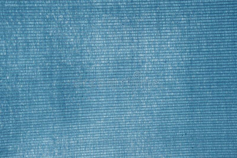 Fond bleu de filet d'ombrage image stock