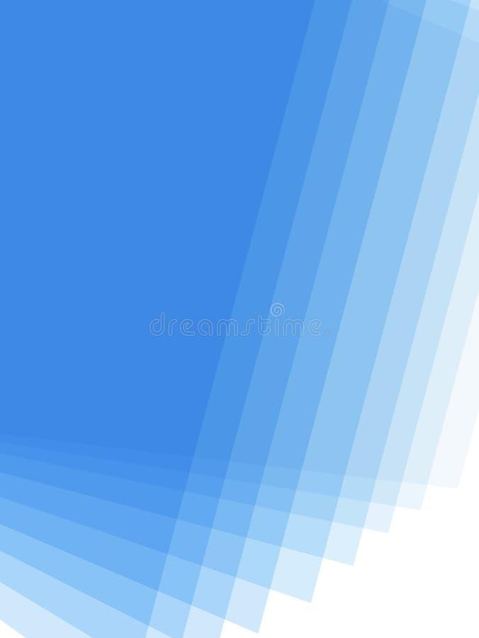 Fond bleu de gradient illustration libre de droits