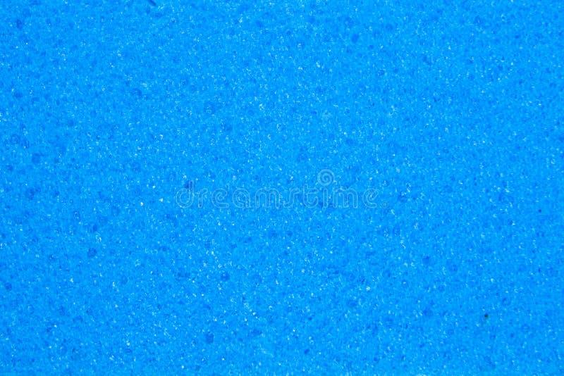 Fond bleu de texture d'éponge image stock