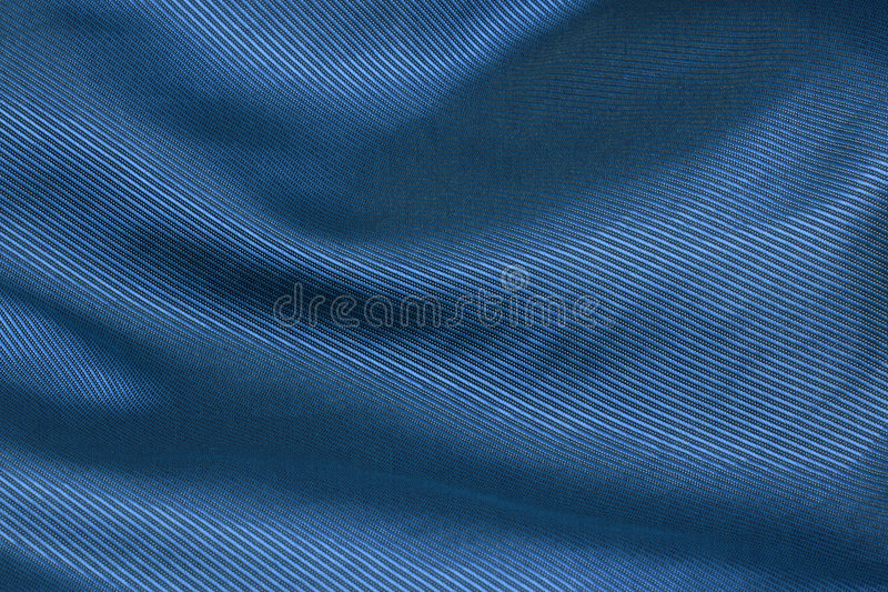 Fond bleu de tissu photographie stock libre de droits