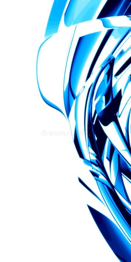 Fond bleu doux illustration stock