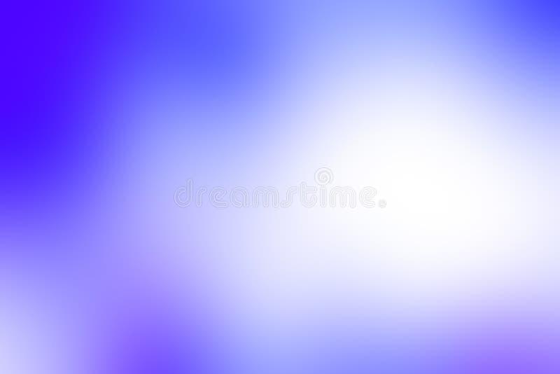 Fond bleu et blanc doux coloré de texture Beau bleu dans le gradient foncé images stock