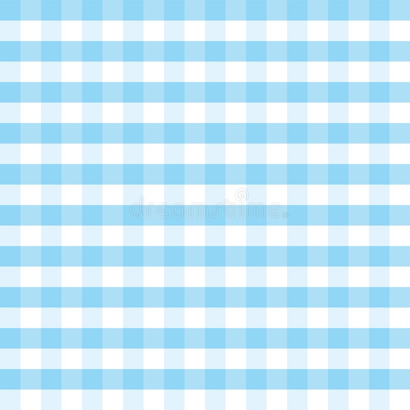 Fond bleu et blanc Oktoberfest de vecteur de plaid illustration libre de droits
