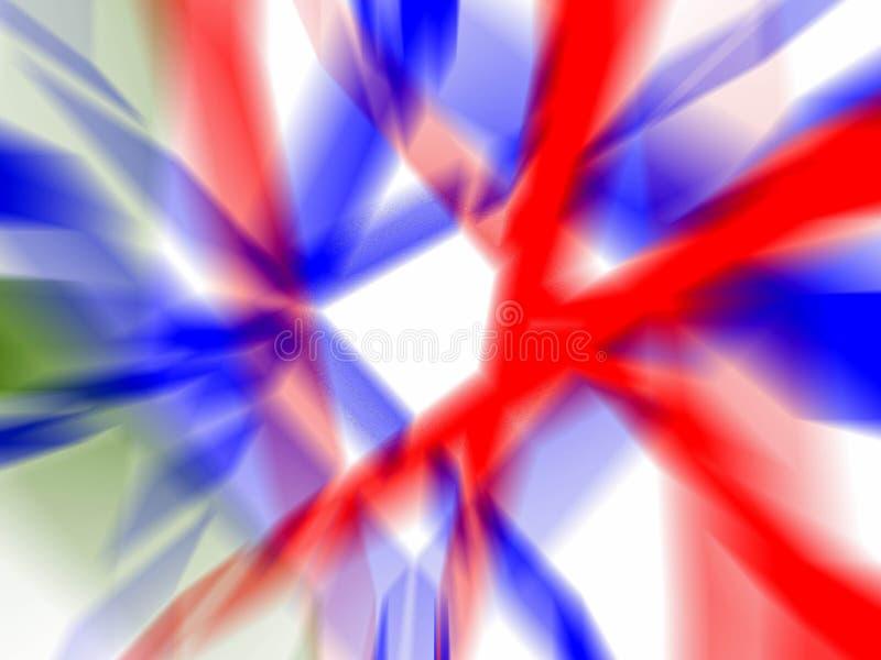 Download Fond bleu et rouge image stock. Image du couleur, blanc - 741399