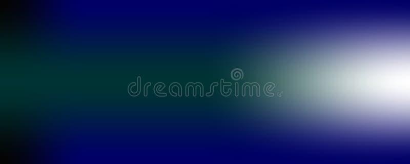 Fond bleu-foncé et vert avec la conception grunge noire de frontière, disposition chique élégante de contexte illustration de vecteur