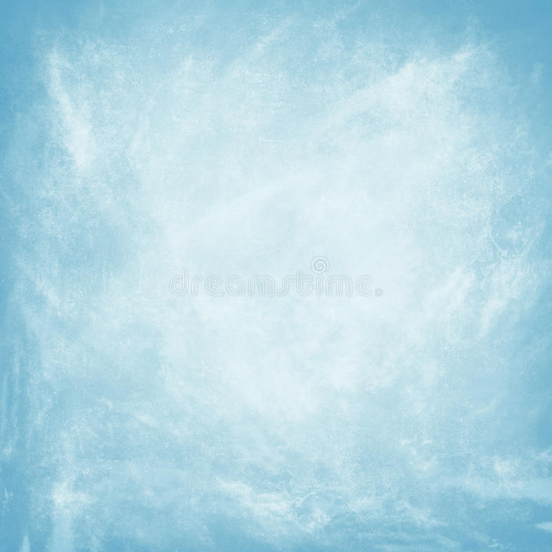 Fond bleu grunge illustration stock