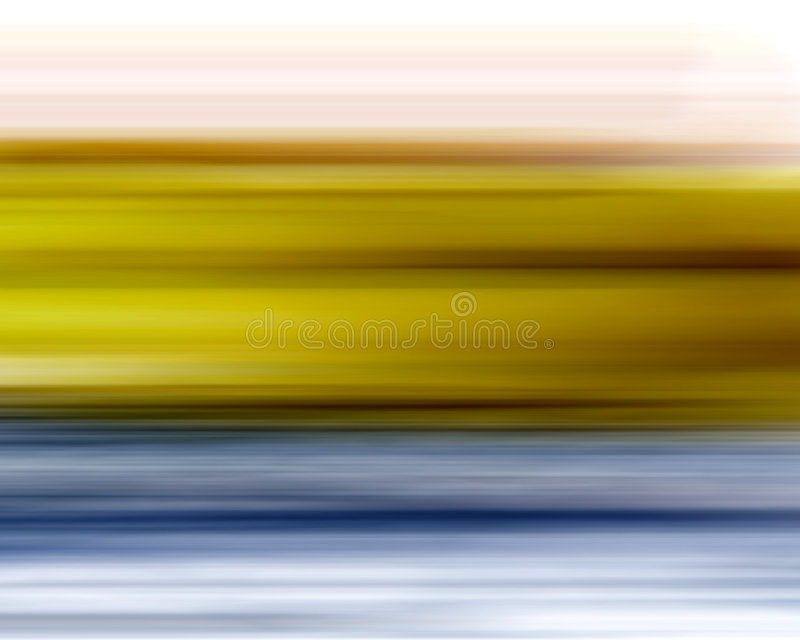 Fond bleu jaune de tache floue illustration libre de droits