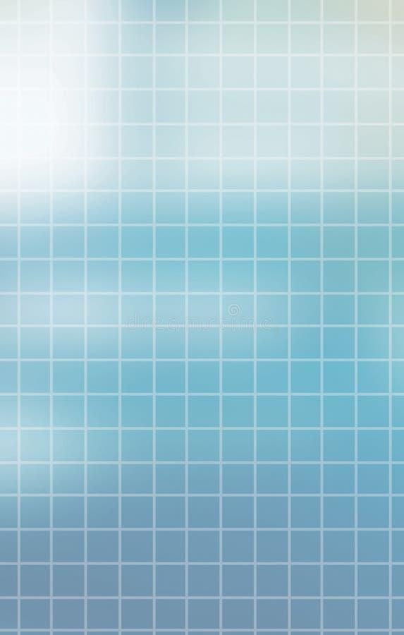Fond bleu moderne illustration libre de droits