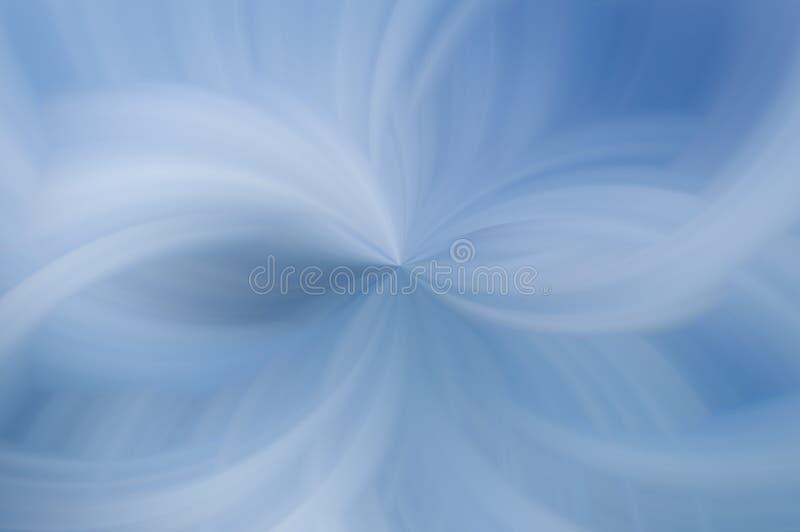 Fond bleu mou illustration stock