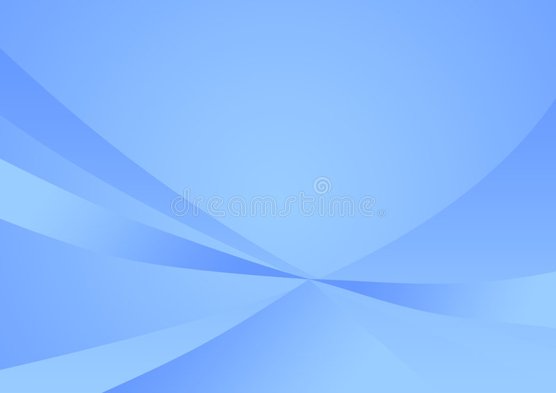Fond bleu mou abstrait illustration de vecteur
