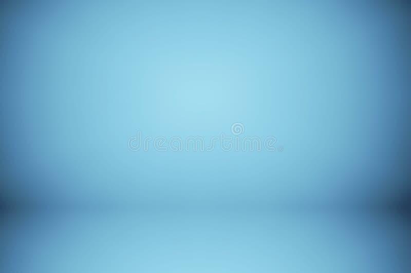 fond bleu mou abstrait de tache floue illustration libre de droits