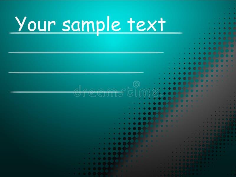 Fond bleu pour votre texte photos libres de droits