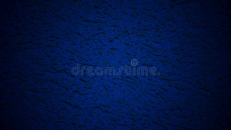 Fond bleu profond avec un effet en verre givré humide images stock