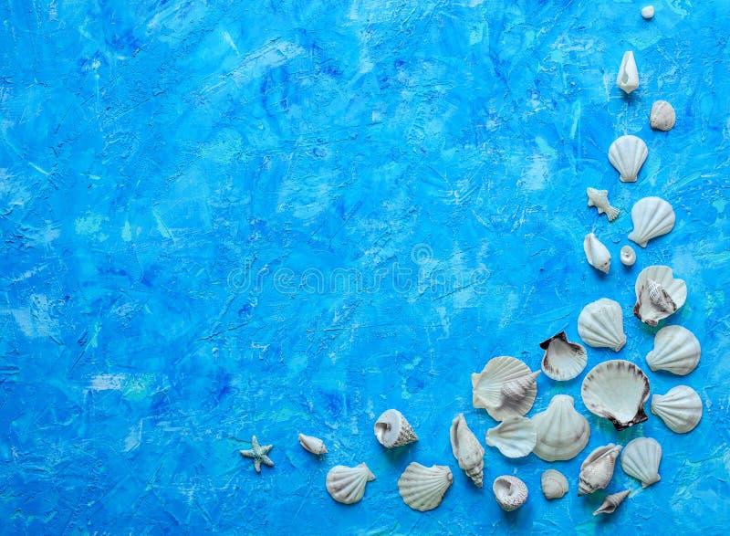 Fond bleu texturisé photos stock