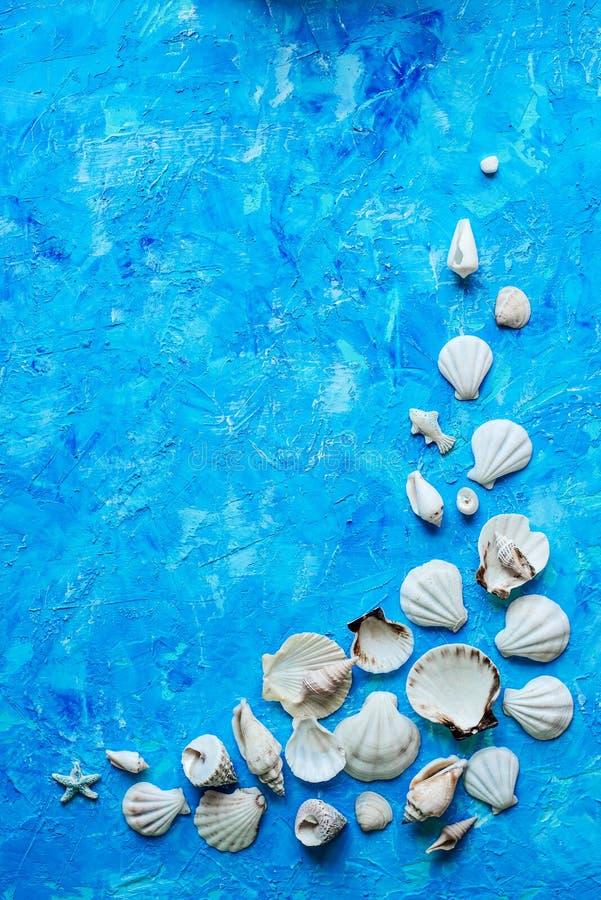 Fond bleu texturisé photo libre de droits