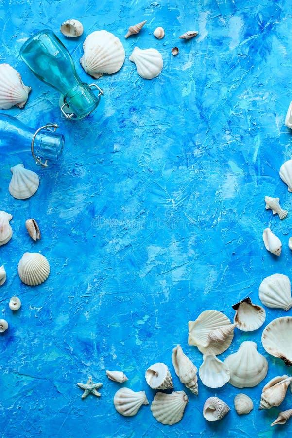 Fond bleu texturisé photos libres de droits